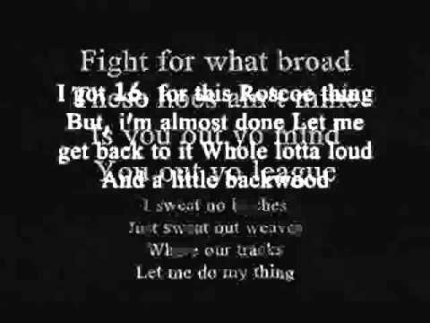 Waka Flaka Flame (Feat. Roscoe dash & Wale)- No Hands- Lyrics
