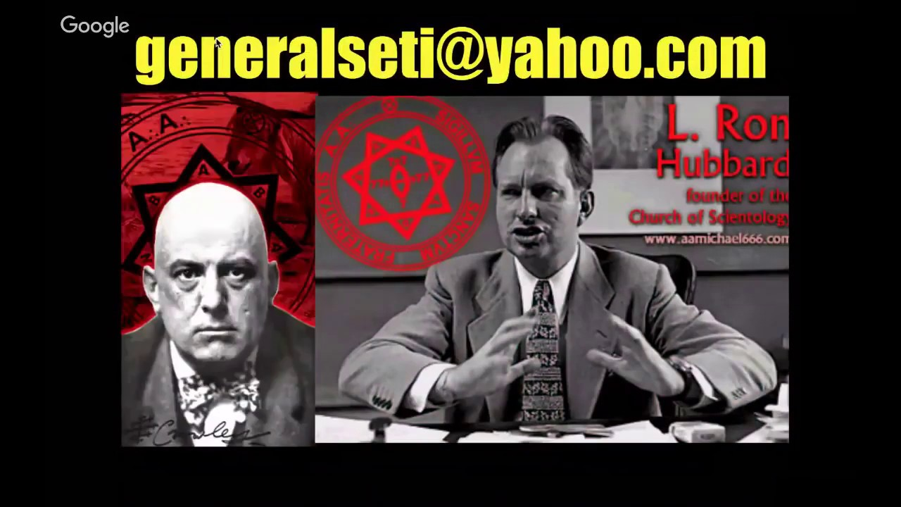 SCIENTOLOGY EXPOSED!! GENERAL SETI & YOUNG PHARAOH PT.1