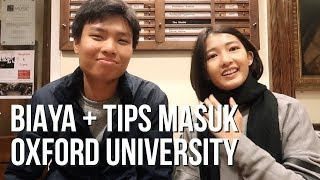 TIPS MASUK OXFORD UNIVERSITY - CINDY THEFANNIE