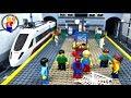 Download Lego Spider-Man Superhero 🚇 METRO Stop Motion Animation