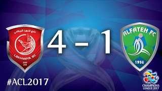 Lekhwiya vs Al Fateh (AFC Champions League 2017: Group Stage – MD6) 2017 Video