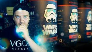 VAPE WARS / обзор линейки жидкости для электронной сигареты