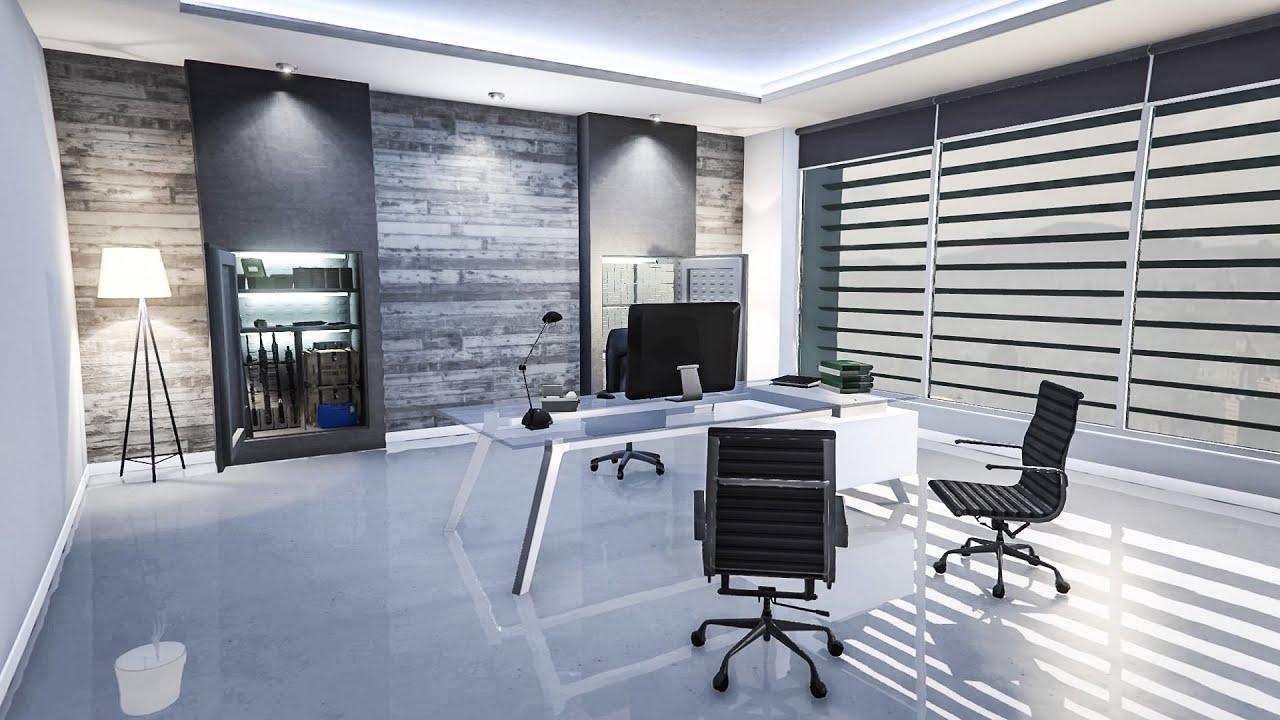 GTA Online Maze Bank Office Interior Showcase  YouTube