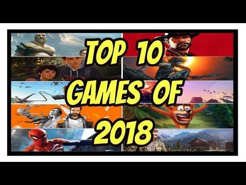 TOP 10 Video Games Of 2018