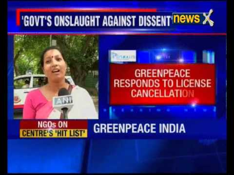 Govt blocks foreign funds for Greenpeace India, NGO says it won't be deterred