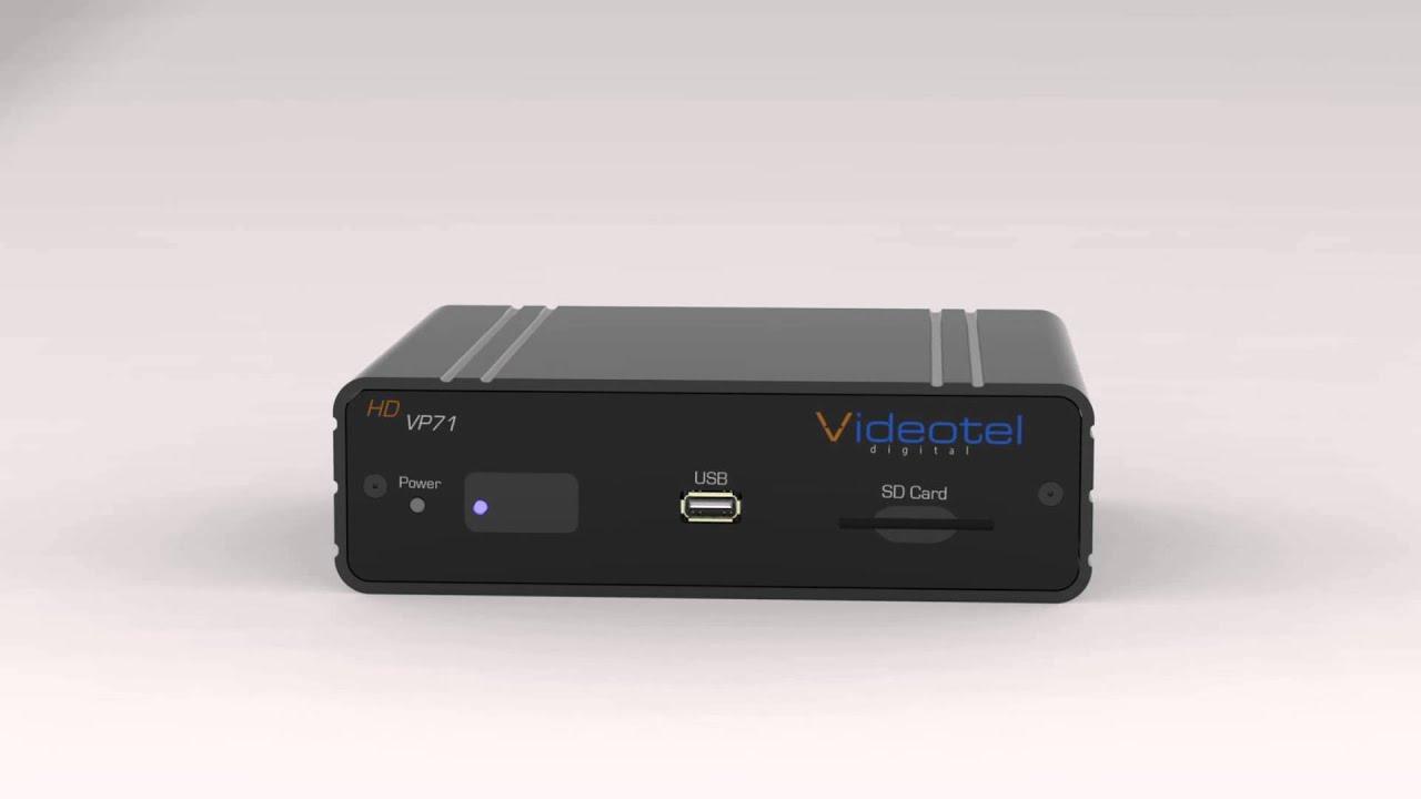 VP71 Industrial Looping 1080p Media Player