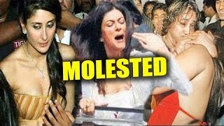 Bollywood Actress Molested In Public By Fans | Bollywood Actress Molestation | Katrina, Kareena