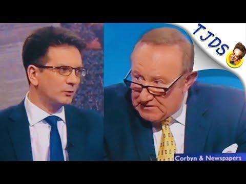 BBC Host Smashes Jeremy Corbyn Smear On Live TV