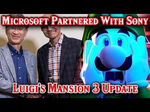 Xbox Partnered With Nintendo & PlayStation Luigi&39;s Mansion 3 News & A Zelda Surprise