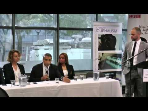 Press Conference: Mohamed Fahmy