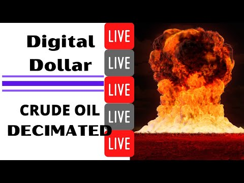Digital Dollar Incoming? || Crude Oil Decimated