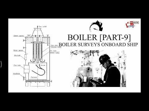 Boiler [Part-9], Boiler surveys onboard ship.