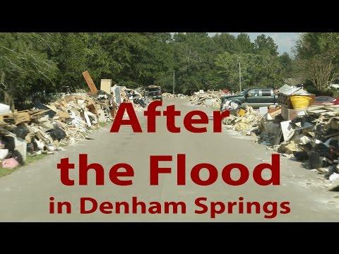 Denham Springs after the Flood
