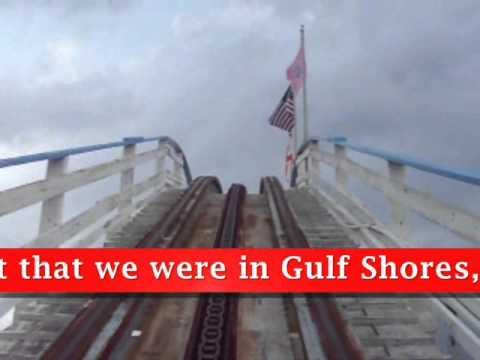 CannonBall Run Roller Coaster, WaterVille USA, Gulf Shores, AL ...