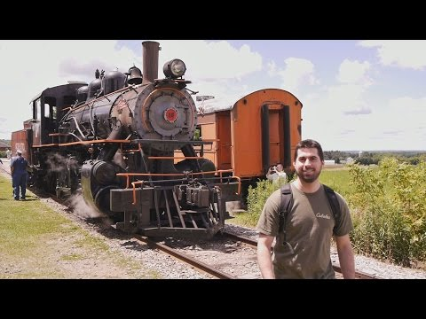 ALL ABOARD! Arcade & Attica Railroad – Train Ride