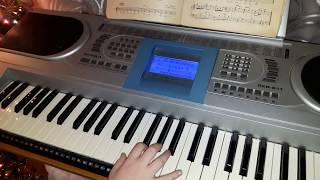 Как научиться играть на синтезаторе  Маленькой елочке холодно зимой