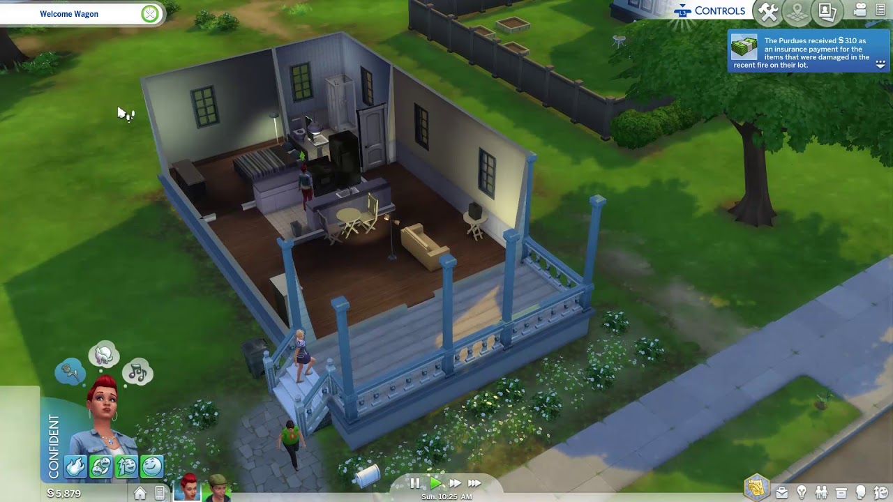 The Sims 4 Console (PS4): Live Mode & Camera Mode