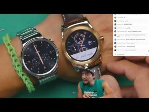 Huawei Watch Unboxing! [LIVE]