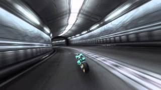 El Shaddai - Motorcycle Battle [HD]