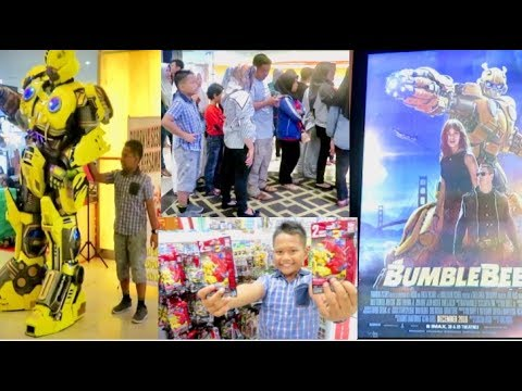 Ke Bioskop Nonton Film Bumblebee & Beli Mini Figure Transformers