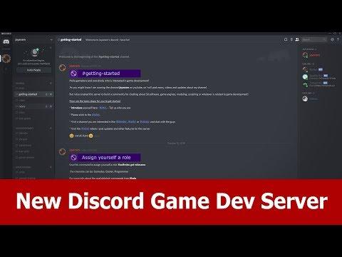 Game Dev Discord Server Youtube