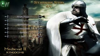 HOW TO INSTALL STAINLESS STEEL 6.4 (MOD FOR MEDIEVAL II)