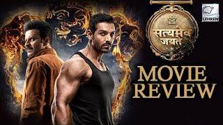 Satyameva Jayate Movie Review   John Abraham, Manoj Bajpayee   LehrenTV