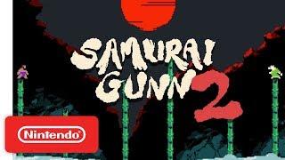 Samurai Gunn 2 - Teaser Trailer - Nintendo Switch