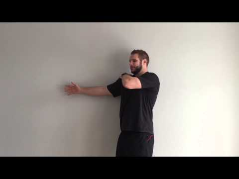 Posterior Deltoid Release | Shoulder Pain Self Administered Soft Tissue Release | Feat Alex Eatly