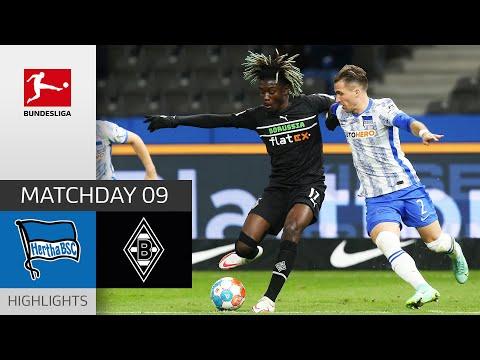 Hertha Berlin Borussia Moenchengladbach Goals And Highlights