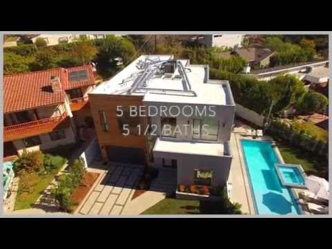 DRONING A NEW MODERN HOME / The Noel Group Santa Monica