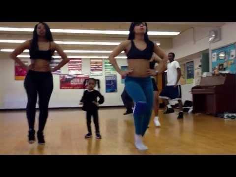 Beyonce dance. 2 year old kills choreography !