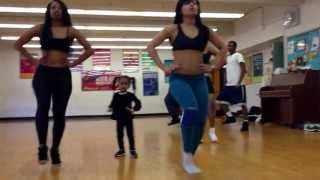 Beyonce dance. 2 year old kills choreography !
