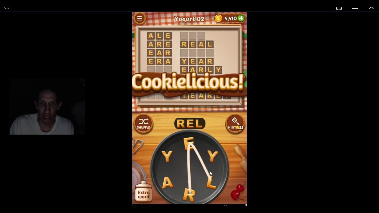 Word Cookies, Pastry Chef, Yogurt level 2 - YouTube