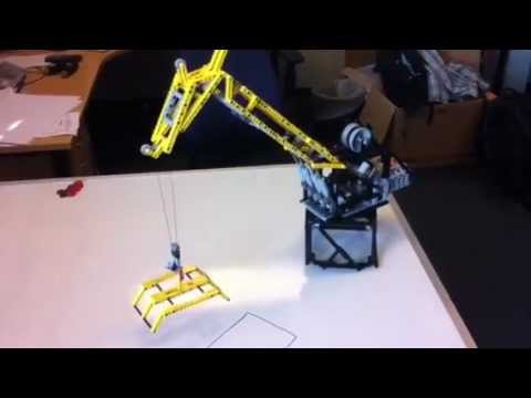 LEGO Offshore Crane - Knuckle Jib