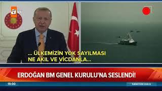 Erdoğan BM Genel Kurulu'na seslendi! - Atv Haber 22 Eylül 2020