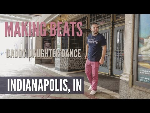 Indianapolis Vlog | Making Beats | Daddy Daughter Dance | CrackaLackTV Ep. 55