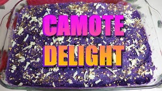 How to make Camote Delight
