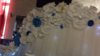 Оформление свадьбы большие цветы от Наталии Королевой