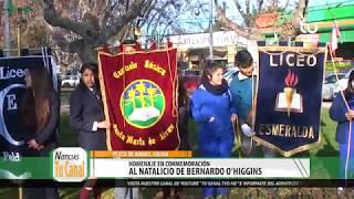 Homenaje en conmemoración al Natalicio de Bernardo O´Higgins, Colina