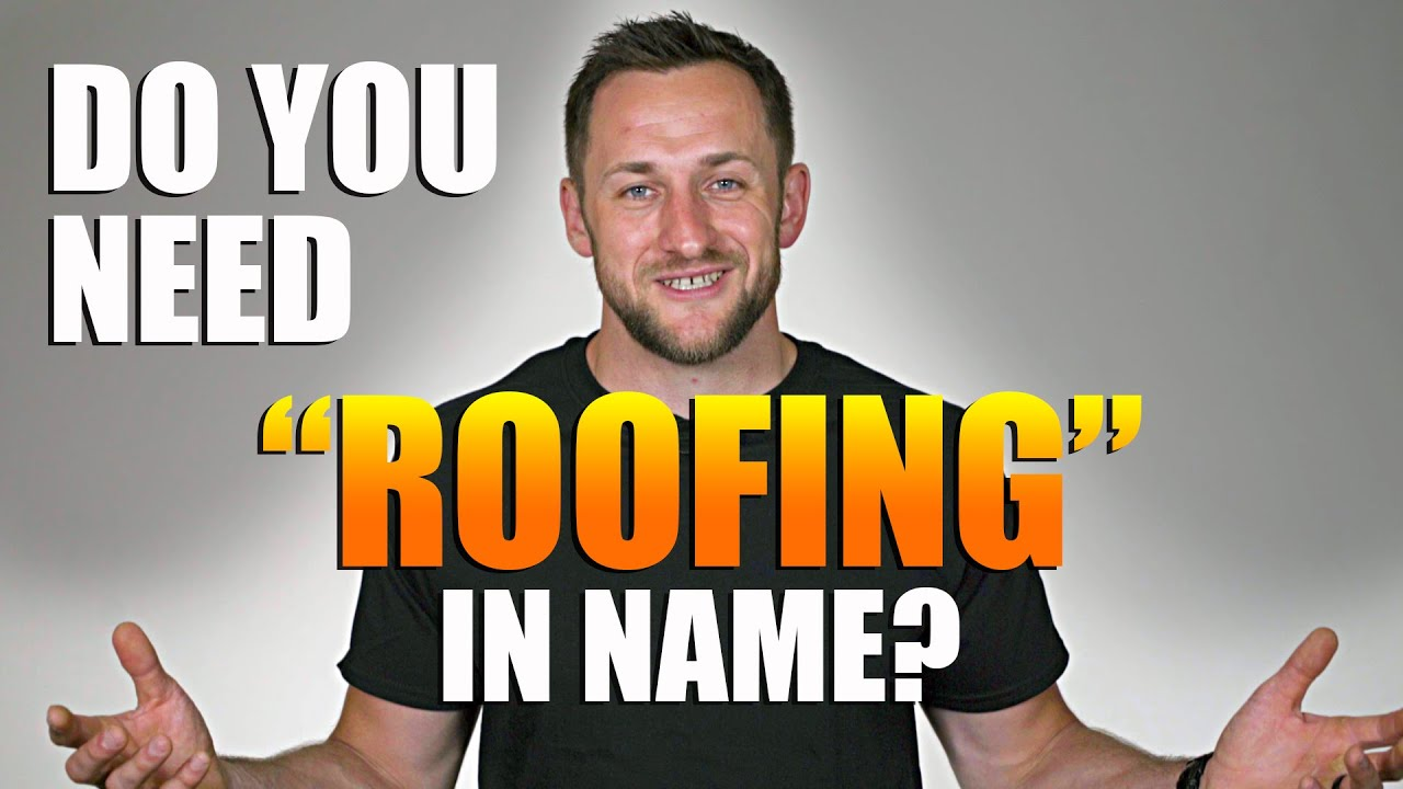 Should you have    Roofing