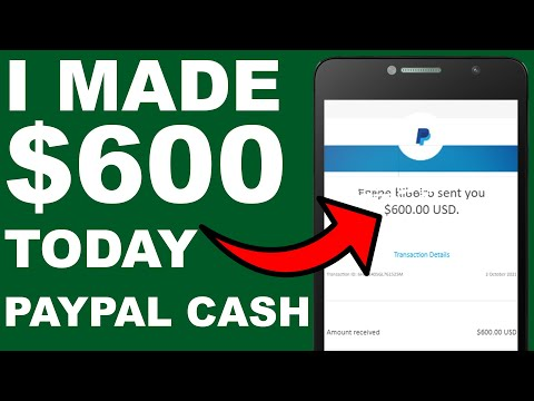 How To Earn $600 PayPal Money TODAY! (Earn PayPal Money Fast and Easy)