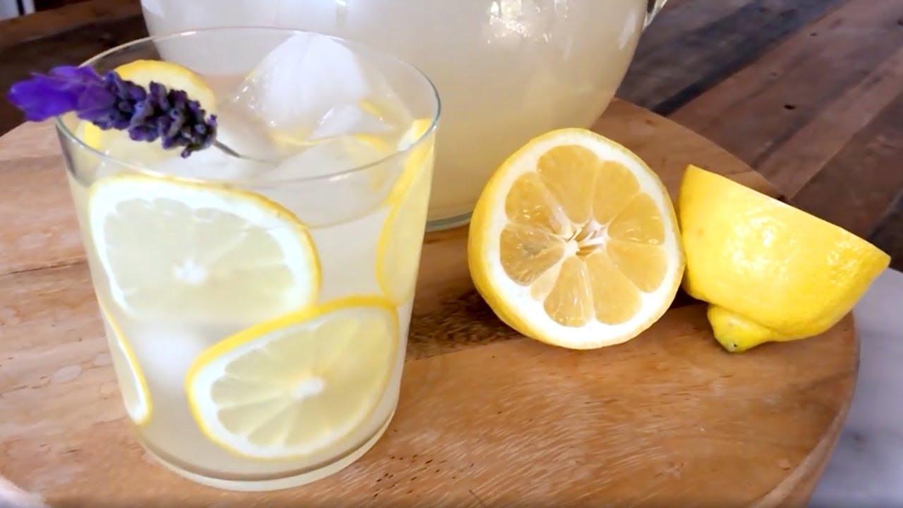 How to Make Spiked Lavender Lemonade