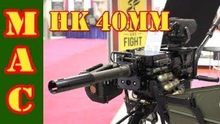 HK 40mm Grenade Launcher - SHOT Show 2013