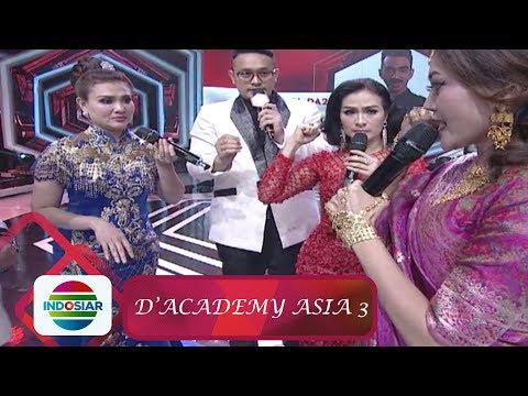 Persaingan Antara Mami Masidayu, Iis Dahlia, dan Kak Ros - D'Academy Asia 3