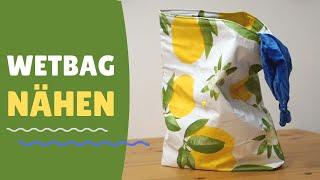 Wetbag selber nähen | Upcycling Projekt | Zero waste DIY