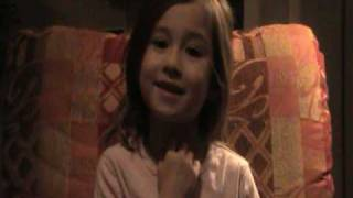rhema marvanne thankyou and sings i love the lord whitney houston