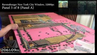 Ravensburger New York City Window - 32000 piece Full Timelapse