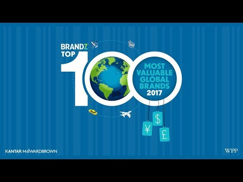 BrandZ Top 100 Most Valuable Global Brands 2017 | Main Webcast