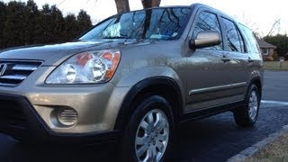 2006 Honda CR-V SE Startup, Engine, full Tour, Long Term Review